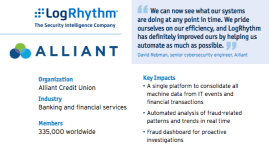 LogRhythm Security Intelligence and Analytics Platform
